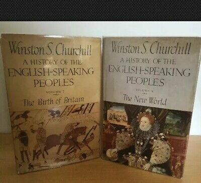 Winston Churchill History English Speaking Peoples Vols 1st 2 FIRST EDITIONS