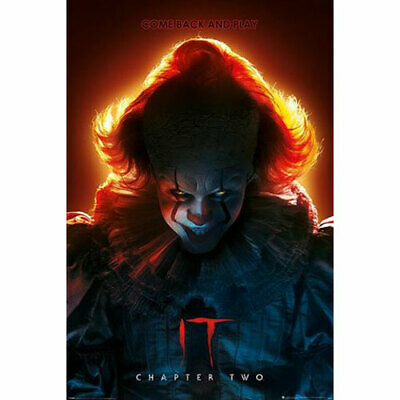 IT: Chapter Two - Come Back And Play POSTER 61x91.5cm NEW pennywise clown