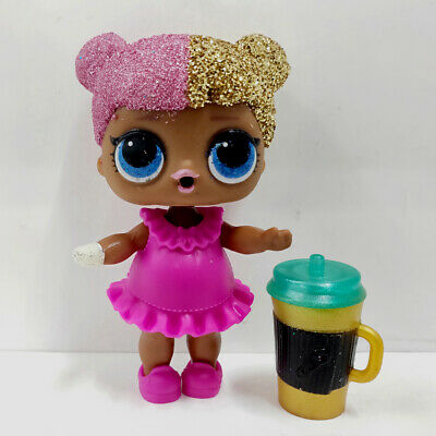 lol surprise doll Big Sister Glitter Gold Hair Red Dress Girls Birthday Gift