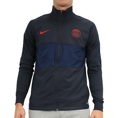 NIKE PARIS ST. Germain Trainingsjacke Fußball Dunkelgrau