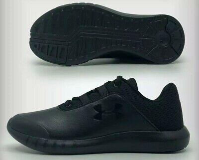 Under Armour Mojo Black Trainers Junior School Boys Girls Ladies - New Boxed