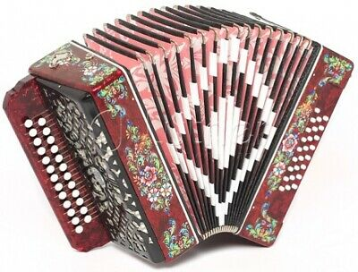 JUPITER CONCERT RUSSIAN Chromatic Button Accordion B-system
