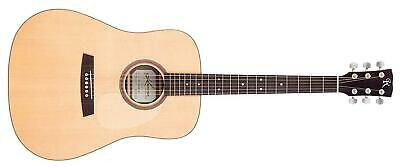 Kremona M10E Steel String series electro-acoustic guitar. Solid spruce, mahogany