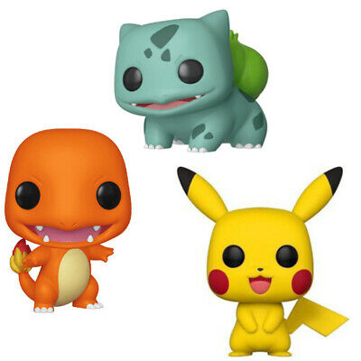 "Classic FUNKO POP Pokemon 4""H Action Figures Collection Model Toys Gift"