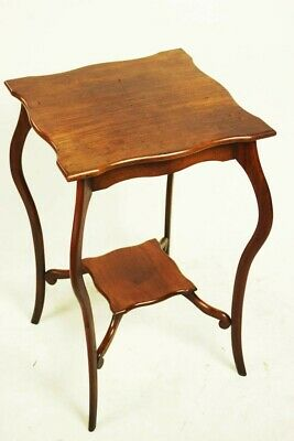 Antique Edwardian Mahogany Occasional Table - FREE Shipping [5484]