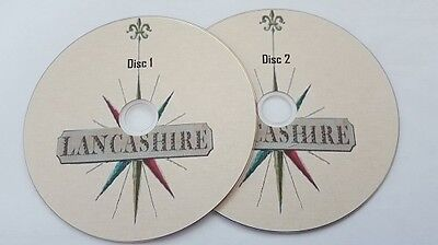 Topography ebooks of Lancashire 200 in pdf formats, history files on 2 discs