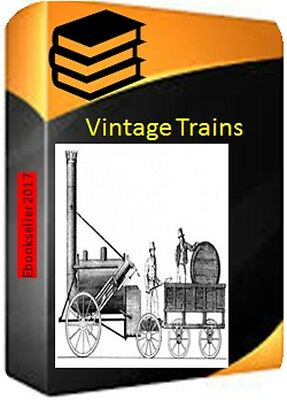 Railway history in 100 pdf ebooks of trains includes Bradshaws on 2 discs