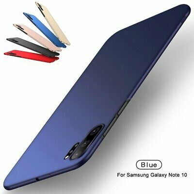 For Samsung Galaxy Note 10 Plus Case Matte Ultra Thin Hard Back Protective Cover