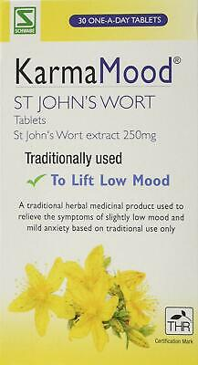 Schwabe Pharma KarmaMood St John's Wort Extract 250mg Tablets- Pack of 30 Tablet