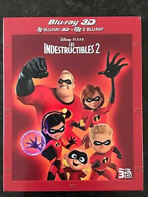 Blu-Ray Disney 3D Les Indestructibles 2 N°121 Walt Disney Company Pixar 2018