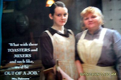 DOWNTON ABBEY TOTE BAG MRS. PATMORE & DAISY + STAFF ON BACK ...
