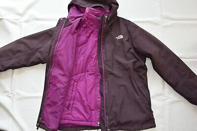best sneakers f7169 ca1cd THE NORTH FACE 3in1 Regenjacke Winterjacke Outdoorjacke Damen Gr.XL