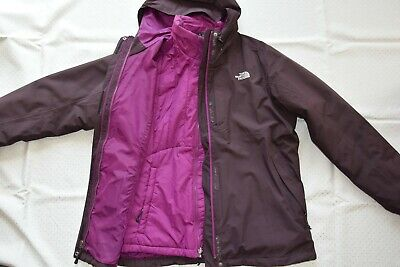 The North Face 3in1 Winterjacke Outdoorjacke Regenjacke hdtxBsCrQ