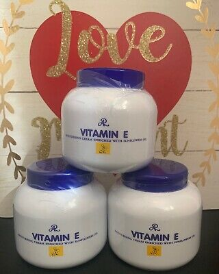 AR Vitamin E Moisturising Cream with Sunflower Oil 200ml &FREE 1 AHA Thai Serum