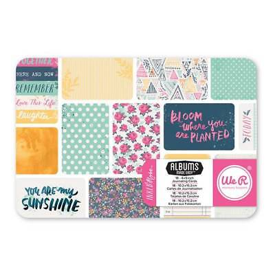 """4x6 Journaling Cards Kit  ~ IT FACTOR ~ 62439-4 We /""""R/""""~ Albums Made Easy 3x4"""