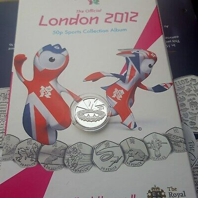 Completer Medallion 50P Coin London 2012 Olympic For Collection Album