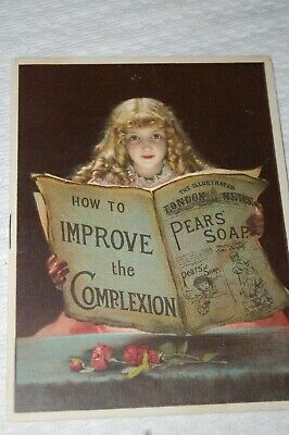 Antique Trade Booklet Pears Soap How To Improve Complexion