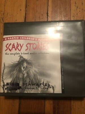Scary Stories To Tell In The Dark RARE CD Set. Performed By George S. Irving...