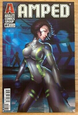 Amped #1 (2019) White Widow Foil Variant VF/NM or Better