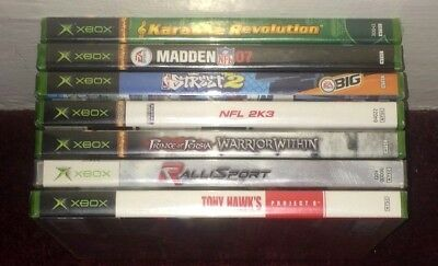 Brand New Xbox Games Complete Fun Pick & Choose Sealed Video Games Lot