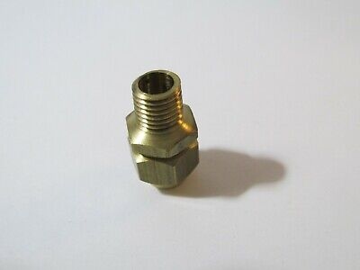 "Set of 2 New Train Parts 5//16-27 TPI Model Engineer 1.5/"" BRASS PIPE NIPPLE"