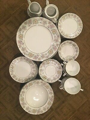 Norleans (china): francaise japan heloise. Made In JAPAN. Vintage. 42-piece Set.