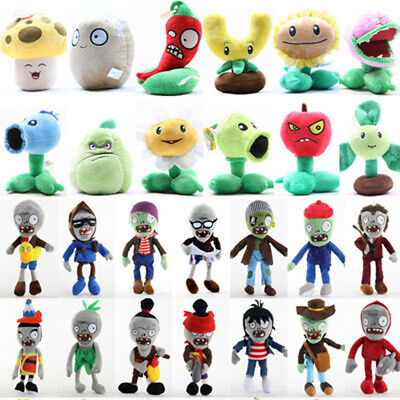 Plants Vs Zombies 2 PVZ Children Plush Toy Baby Staff Stuffed Soft Doll 15-30cm