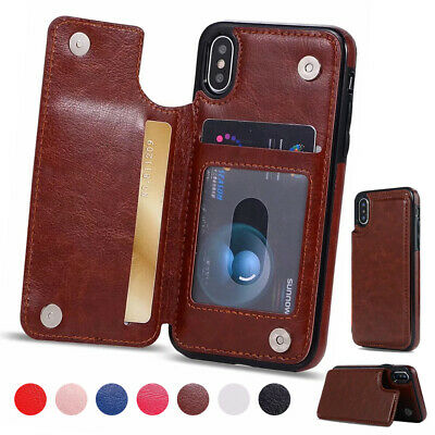 For Samsung Note 10+ Plus 5G S10/9+ Magnet Leather Wallet Case Card Pocket Cover