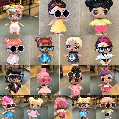 Real Poupée surprise LOL dolls Crystal Queen Wave big sisters girl toy Xmas Gift