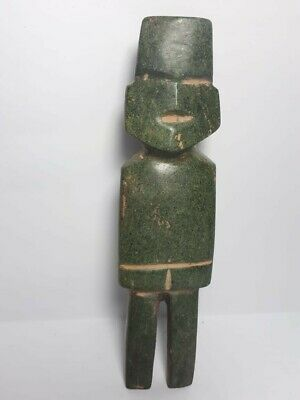 Pre-Columbian Mezcala figure w/ baby on back
