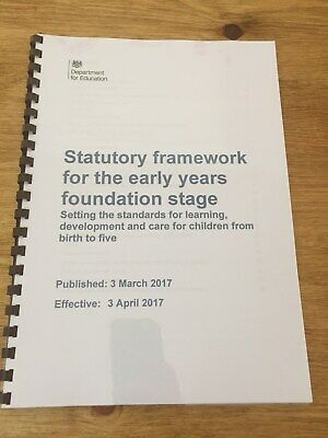 EYFS Statutory Framework Early Years Foundation Stage