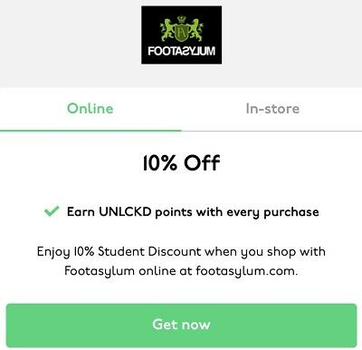 Footasylum 10% Off Valid Discount Code *Instant Delivery* - Uk Only