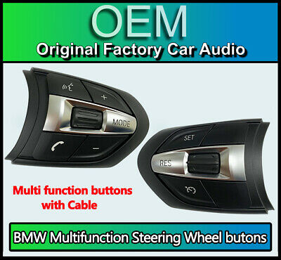 BMW 4 Series Steering F32 F33 M Sport Steering Wheel buttons with cruise control