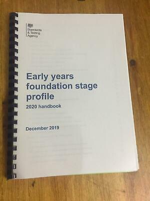 2019 Profile Handbook Early Years Foundation Stage EYFS