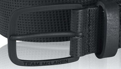 BELT Team McLaren Formula One 1 F1 NEW! Premium Official Merchandise Black