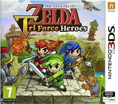 Juego 3Ds The Legend Of Zelda Tri Force Heroes 3Ds 5052351
