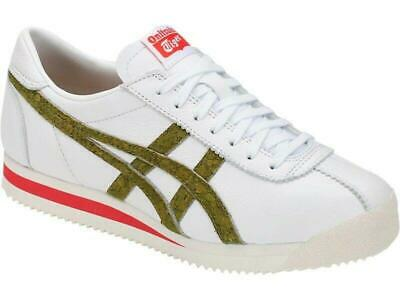 Onitsuka Tiger Corsair Unisex White Leather Trainers - Mexico 66 Also In Stock