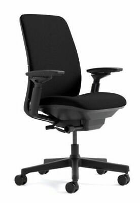 Amia Chair in Black by Steelcase