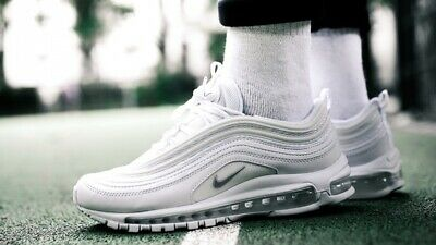 discount sale outlet watch NIKE AIR MAX 97 Triple White 921826-101 - $149.99 | PicClick