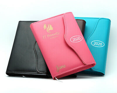Personalised Executive Diary Organiser 2020, Faux Leather, Day A Page, A5 / A6