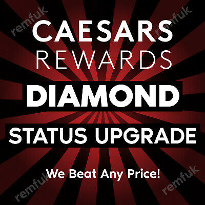 💎Caesars Rewards Diamond Status Upgrade 💎