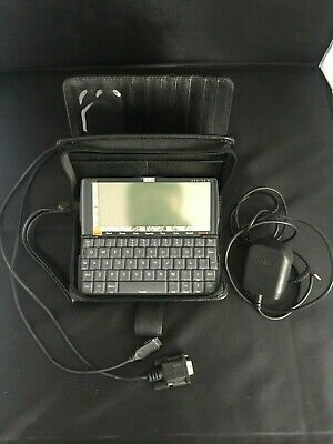 PSION Series 5 PDA Retro Vintage Handheld Computer 100% Working + Leather Case
