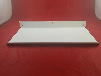 Vintage White Porcelain Bathroom Wall Mount Shelf Never Used  Lot(730-58)vc