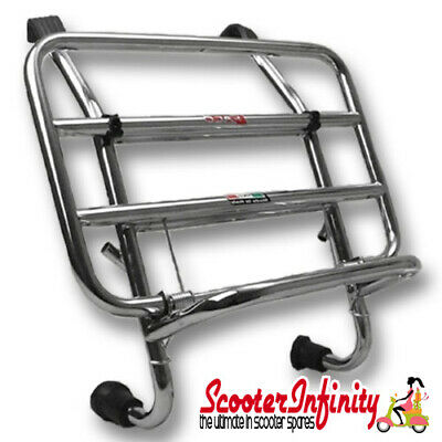 Carrier/Rack Front Chrome Vespa GTS/GTS Super/GTV/GT (Faco)