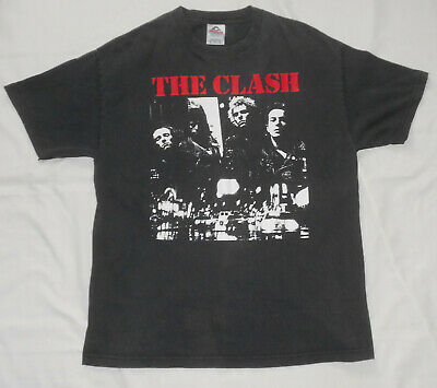 Vintage The Clash On Broadway The Only Band That Matters Double Sided Shirt Xl