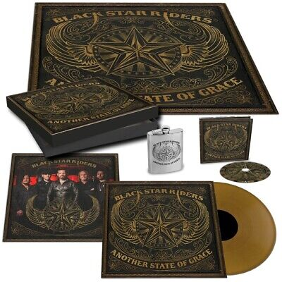 Black Star Riders Another State Of Grace LP Vinyl Boxset W/Hip Flask etc  - New