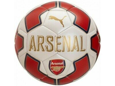 Puma Arsenal FC Fan 2018 - 2019 Soccer Ball New White / Red / Navy Size 5