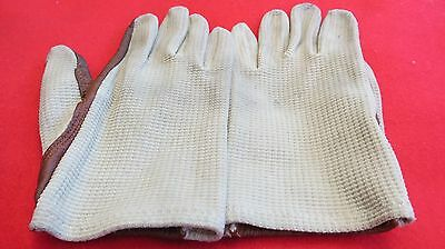 Lovely pair Of Vintage Dents Crochet Driving Gloves - Size Small