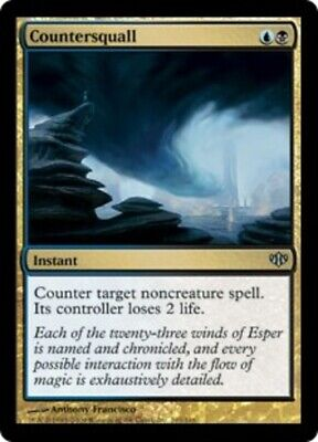 English Conflux x1 Conflux Magic mtg Moderate Play