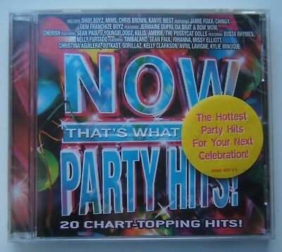 Now Thats What I Call Music USA - Party Hits - NEW, SEALED
